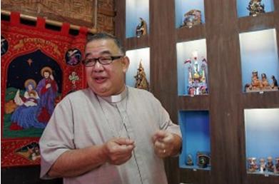 Monsignor with Altar Boy